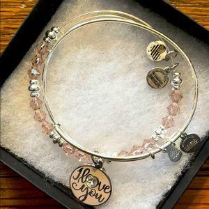 Alex And Ani 2 Bracelet Set